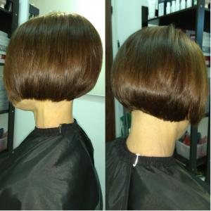 Боб-каре - необыкновенная стрижка!     Очарование формы состоит в том, что буквально для любой внешности можно подобрать подходящий вариант, ведь стрижка боб имеет множество редакций, и каждая предназначена для определенного овала лица, текстуры волос и направления роста.