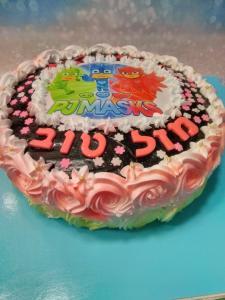 Торт в детский садик на 40 детей круглые и квадратные, начиная с 250 шекелей.