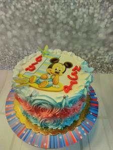 Децкий тортик Микимаус, на 10-15 детей. С сахарной картинкой 200 шекелей.