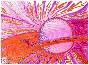 """Рисунок """"Нарисуй себе Солнце!"""""""