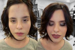 Выразительный макияж. Люблю перевоплощения!
