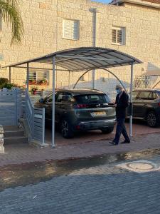 забор+навес для машины