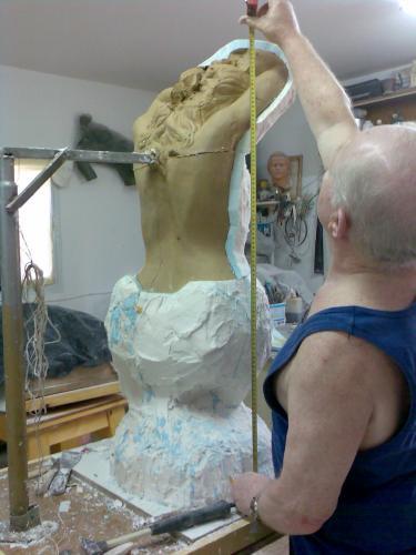 Изготовление скульптур своими руками 173
