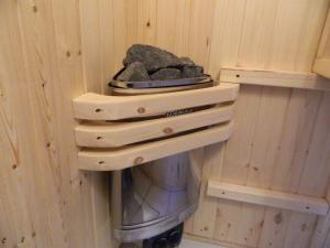 Мини печка для маленькой домашней сауны