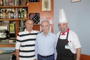 Наш гость:Президент Израиля Шимон Перес