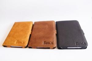Обложки из натуральной кожи для Эл.книги PocketBook PRO 602 производства компании ROKA.