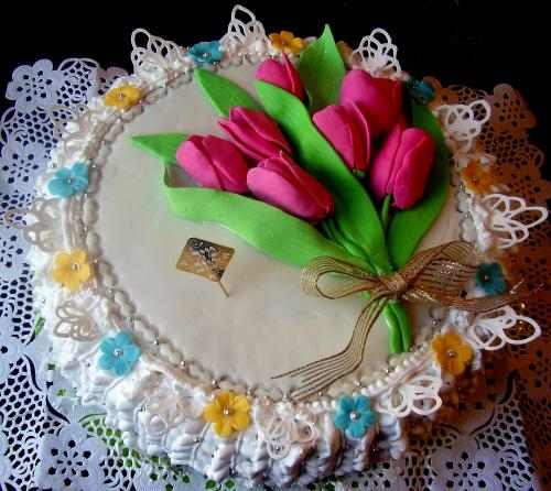 Изготовление тортов вкусные тортики