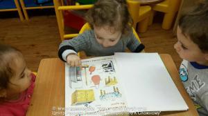 младшая группа -  читаем