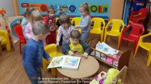 старшая группа - читаем куклам книжки