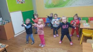 старшая группа - танцуем