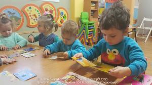 младшая группа -  ежедневные занятия на иврите