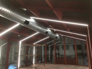 дизайн студентов коледжа шенкар             светодиодное освещение