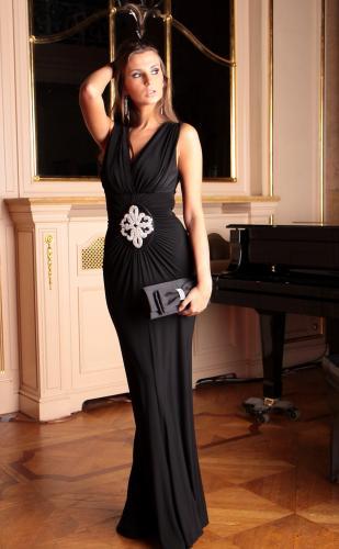 длинное шифоновое платье выкройка и