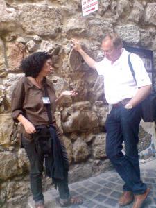 """""""Здравствуйте, Саша! Я вернулся домой. Теперь Вы и Израиль это мое самое приятное воспоминание на всю жизнь. С огромной благодарностью рассказываю своим друзьям о Вас,вашей прекрасной организации и четкой работе.Ваш высокий уровень профессионализма, ответственность, гибкость в работе делает контакт с Вами незабываемым и всегда желанным. Я побывал во многих местах в мире и мне есть с чем сравнить. Спасибо Вам огромное! Спасибо Ане,удивительно талантливому гиду,остроумному и светлому человеку. . Самостоятельно Увидеть все, что мы увидели было бы нереально. Еще раз огромное спасибо!"""""""