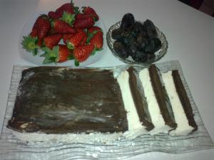 """Торт """"Эскимо в шоколаде"""""""