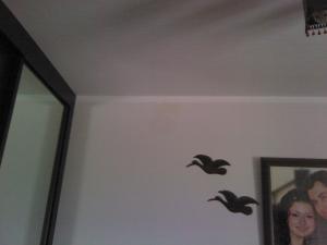 На обычной фотографии не видно никаких дефектов на этой стене