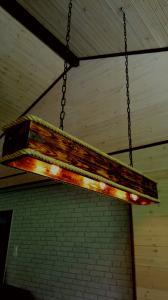 лампа над баром