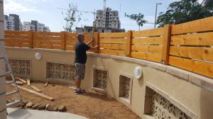 забор в агамим