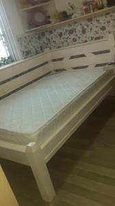 кровать 120/190 деревянная