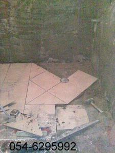 комплексный ремонт ванной комнаты, перед укладкой плитки, штукатурим стены