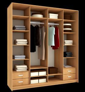 Встроенные внутренние шкафы