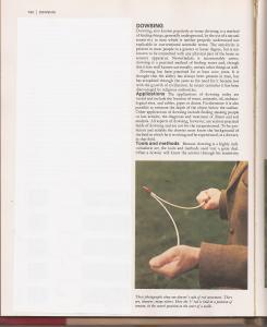 СТАТЬЯ О ДАУЗИНГЕ (ИЛЛЮСТРИРОВАННАЯ ЭНЦИКЛОПЕДИЯ...), ТОМ 6, с. 790-791.