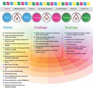 Сайт, который наша компания построила для завода красок: http://denber-paints.co.il/ Сайт с интернет-магазином на 3-ех языках.