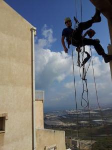 Высотные работы Израиль.