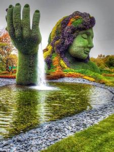 Монреаль, Ботанический сад.