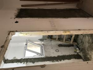 заполнение дверного проема блоком