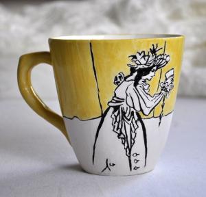 Роспись керамики.  магазин - https://www.etsy.com/ru/shop/WistaGallery