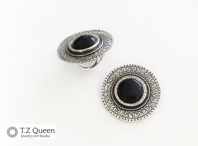 Серебряные украшения - T.Z.Queen - Студия ювелирных дизайнерских ... 5214b0f8dae