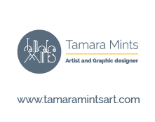 Tamara Mints - artist and web, graphic designer