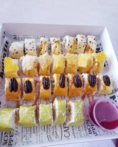 Фруктовые суши