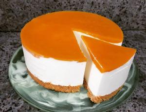Нежнейший творожный торт с манго