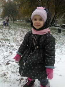Куртка на слимтэксе.Зимняя.Плащевка с пропиткой.В снежинку.