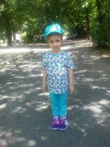Детский костюм трикотажный- Миньены