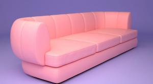 3d модель дивана