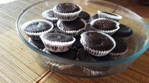 Оказывается, выпечка, МОЖЕТ быть полезной! Шоколадные кексы, из муки кокоса, органического какао, масло виноградных косточек и миндального молока.
