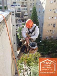 Высотные работы в Израиле.