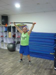 Упражнение для улучшения осанки