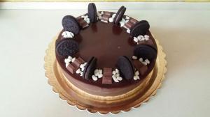 Муссовый торт с шоколадом.
