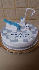 Моя новая работа сделанная на заказ торт медовик.