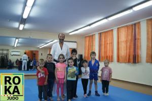 Открытый урок дзюдо для детей в городе Хайфа Израиль. Школа РОКА ДЗЮДО 24 апреля 2018 года