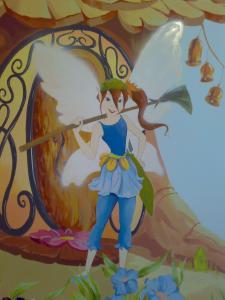 Фрагмент росписи