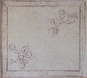 Фрагмент имитации мозаики